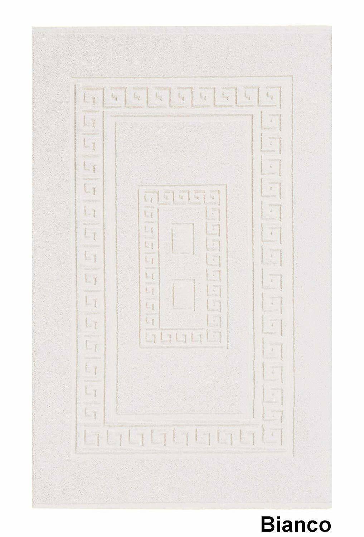 Tappeti Bagno Su Misura Torino dettagli su tappeto bagno torino cm 60 x cm 90 bianco in spugna di cotone