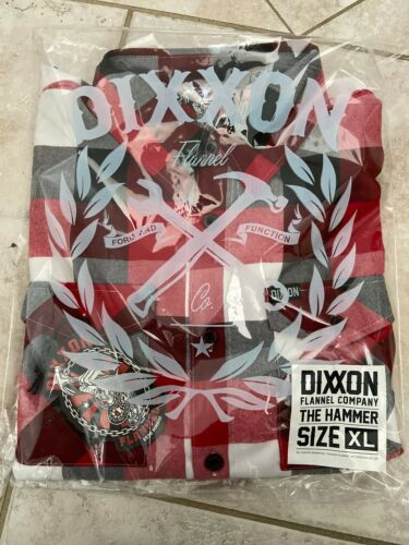 """Sold Out! New DIXXON FLANNEL """"THE HAMMER"""" SIZE XL"""