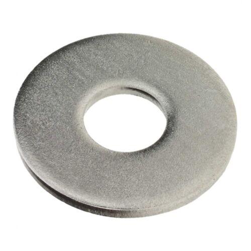 6.4 200x DIN 9021 Scheiben mit Außendurchmesser ca A2 blank 3 d