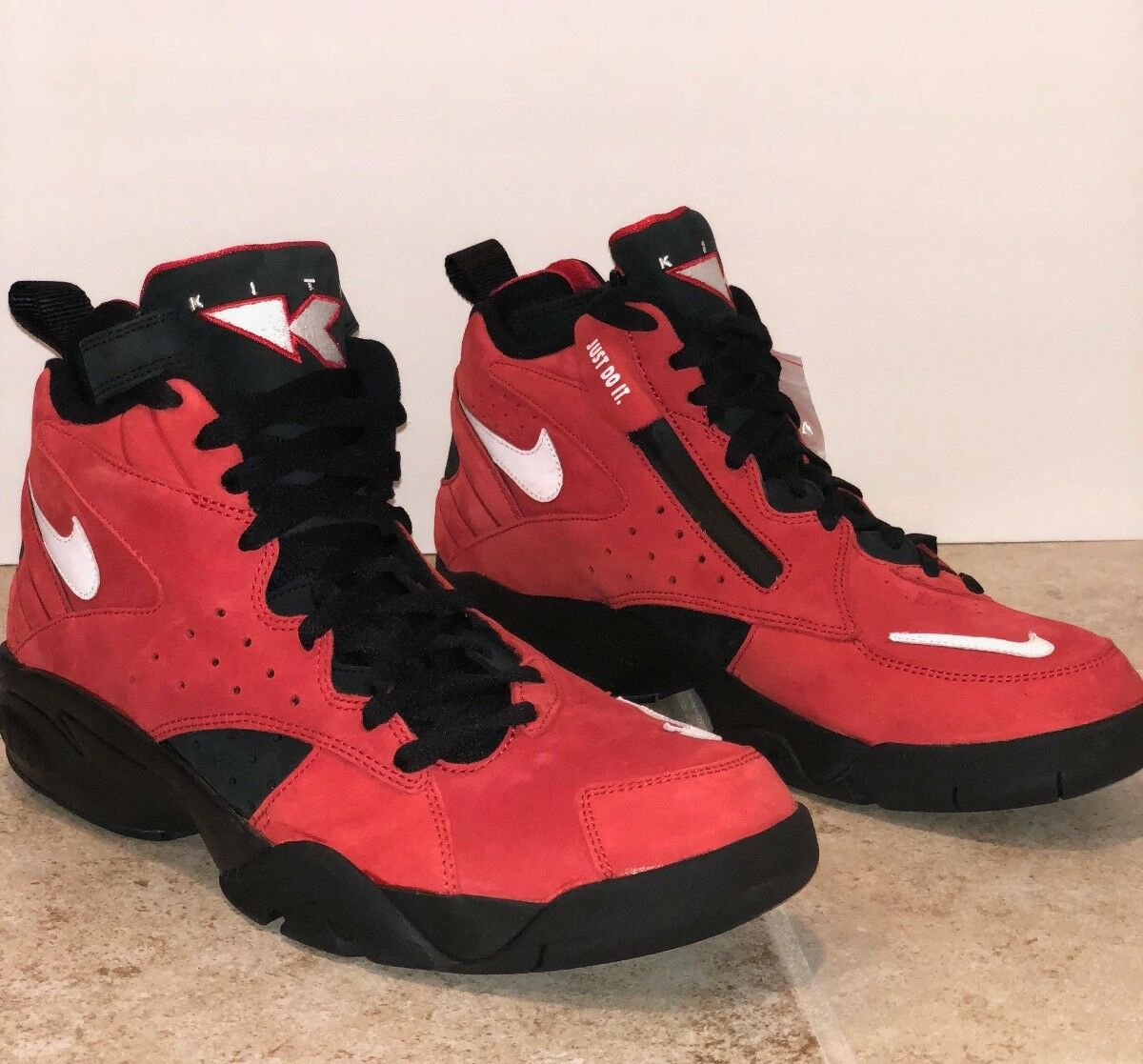 Kith x Nike Air Maestro II High Red Black Take Flight Comfortable best-selling model of the brand