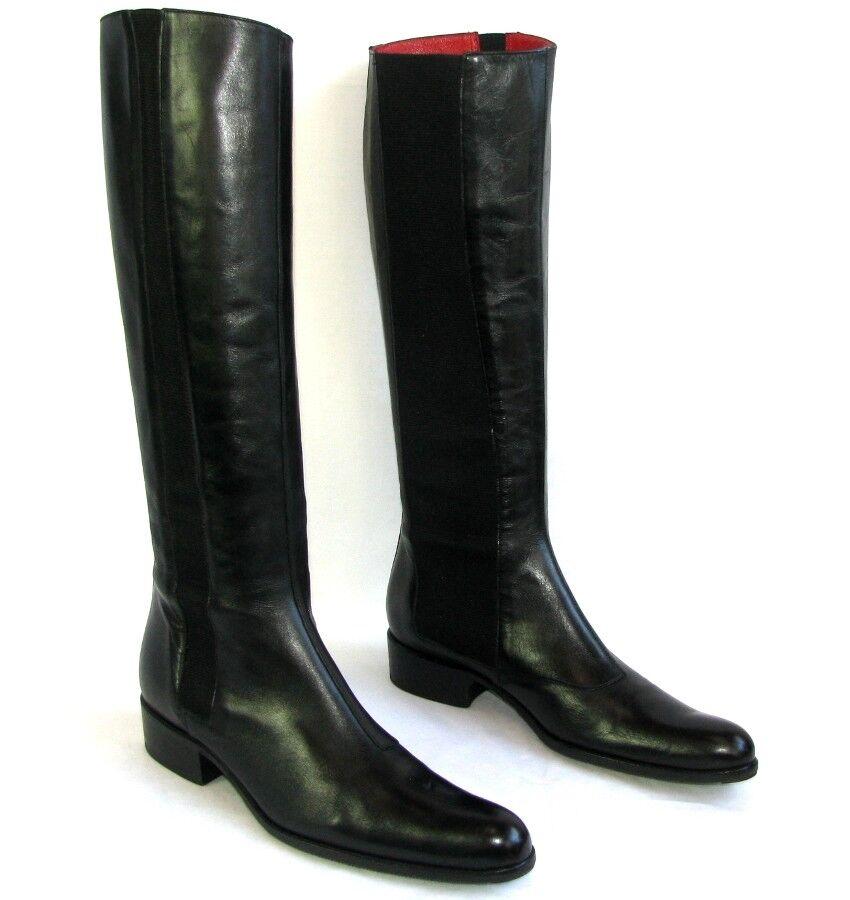 FREE LANCE Stiefel QUEENIE ELAST Vollleder Kalb schwarz 37.5 sehr guter Zustand
