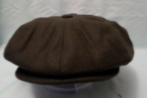 GREEN-1900-s-20-s-30-s-VICTORIAN-EDWARDIAN-PEAKY-BLINDER-CAP-BIG-SIZE