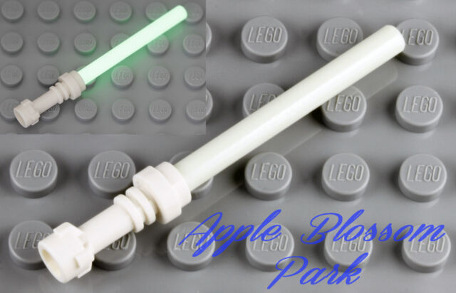 NEW Lego Star War Trans PURPLE LIGHT SABER w//White Hilt Dark Jedi Minifig Weapon
