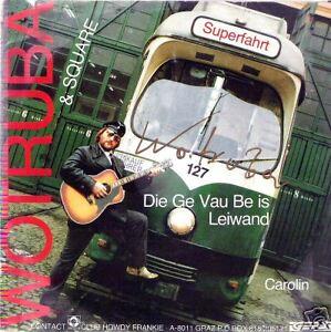 Single----WOTRUBA--Mit Orig. Autogramm---Selten-----