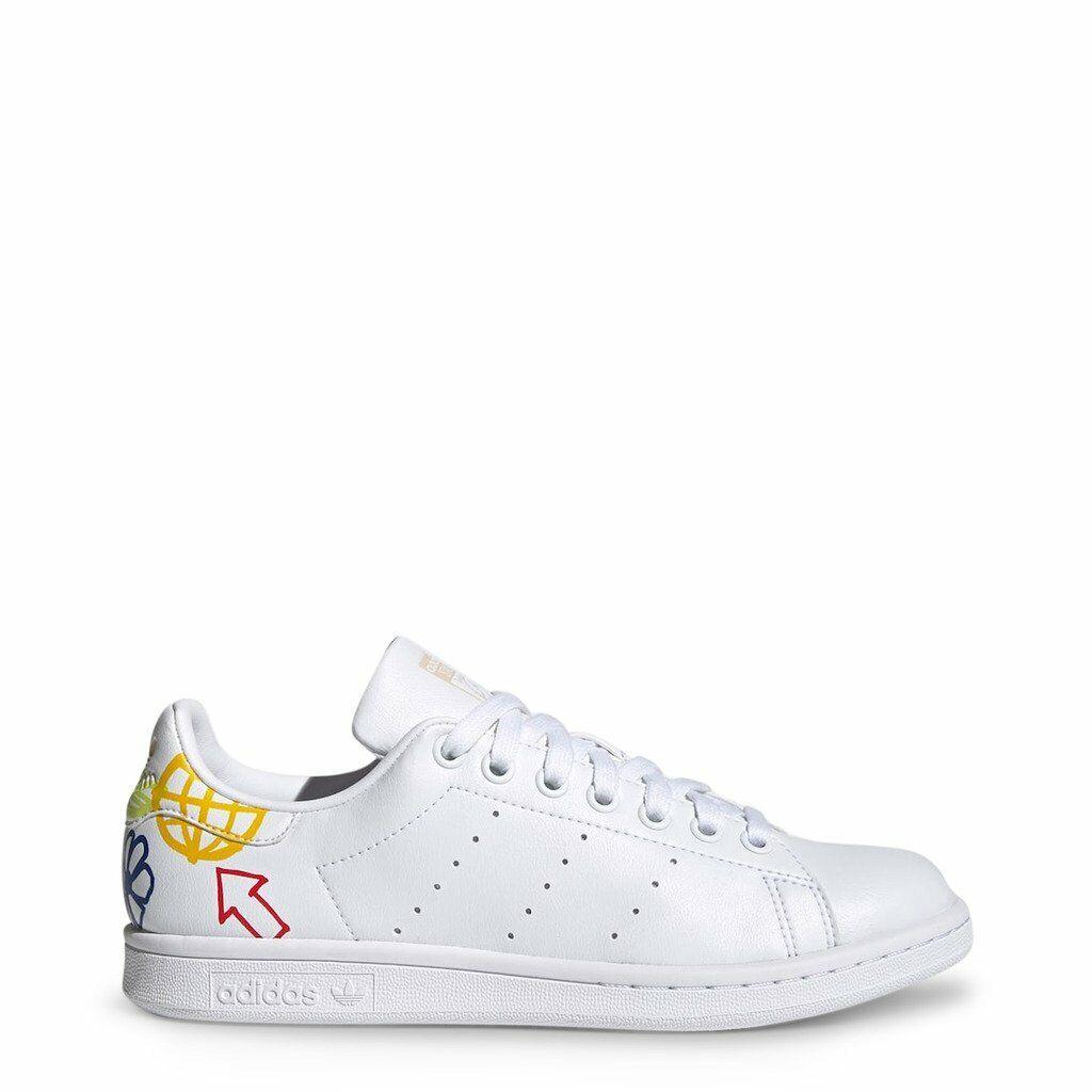 Adidas Sneakers Stan Smith White Woman Flats
