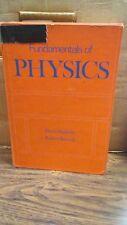 Fundamental Physics by David Halliday and Robert Resnick (B-71J)