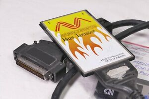 New-Media-Corporation-SCSI-II-PCMCIA-Adapter-Card-with-Driver-Disk-amp-SCSI-Cable