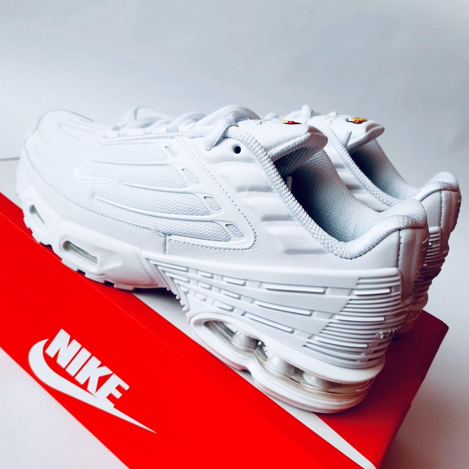 air max plus 3 white