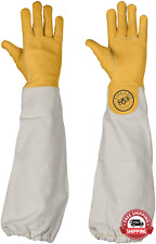 Humble Bee 111 Cowhide Beekeeping Gloves With Extended Sleeves