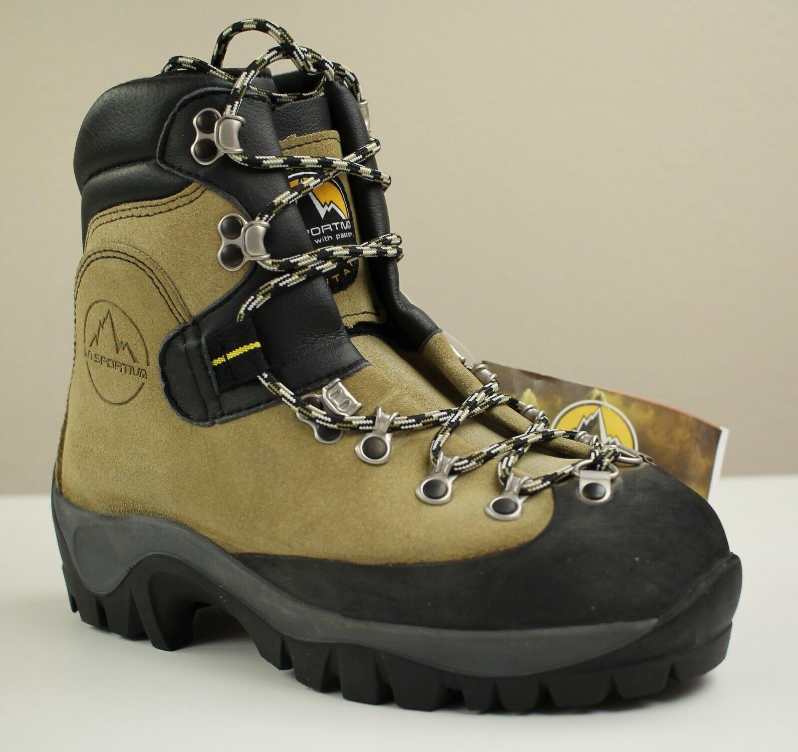 La Sportiva Makalu Mountaineering Boots Size 38 Men's 6 Women's 7