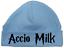 Gift Shower HARRY POTTER New Pink//Blue Round Baby Hat ACCIO MILK Newborn//0-3M