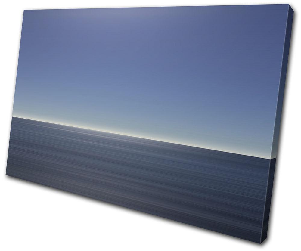Sea Ocean Calm Landscapes SINGLE Leinwand Wand Kunst Bild drucken