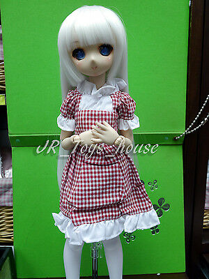 1//12 MSD MDD BJD Doll Clothes Outfit Pink//White//Green Lovely Dress For Lati Doll