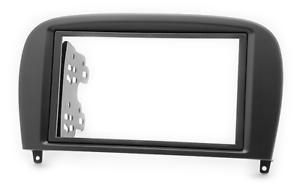 CARAV-11-710-2-DIN-Autoradio-Radioblende-fuer-MERCEDES-SL-Klasse-W230-2004-2011
