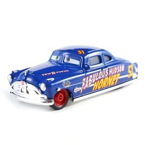 Disney Pixar Cars Fabulous Doc Hudson Hornet Truck 1:55 Diecast Model Loose Toy