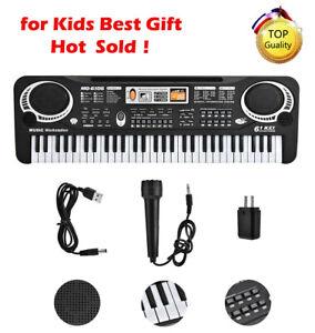 61-Keys-Electronic-Keyboard-Music-Electric-Digital-Piano-Organ-w-Microphone-Ho