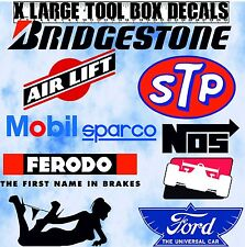 Beta Snap on Tool Box Sticker MAC Britool Decal  Large Garage Stickers Decals