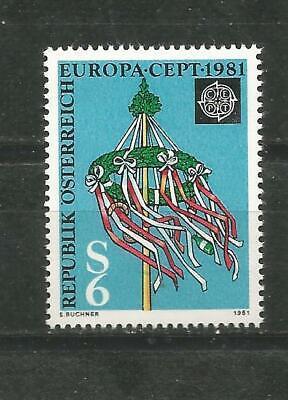 Zielstrebig Österreich Europa Cept 1981 Ohne Briefmarkenfalz Mnh Rheuma Und ErkäLtung Lindern Briefmarken
