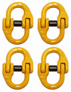 4-pack-9-32-034-Grade-80-Mechanical-Coupling-Link-2-Ton-4000-lbs-WLL