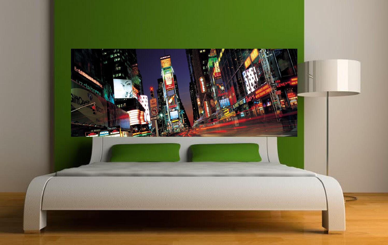 Aufkleber -kopf Bett Wanddekor New York Ref 3605