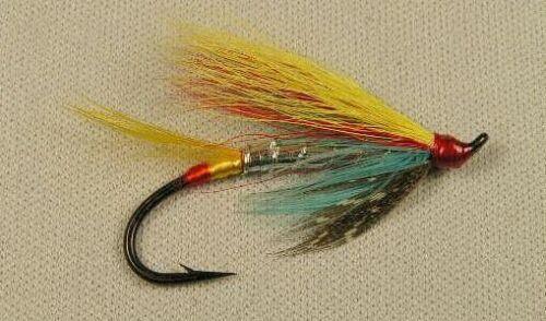 Silver Doctor  size #4 single  (hairwing) Salmon / Steelhead Flies