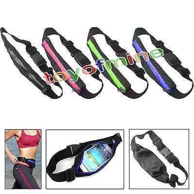 New Outdoor Hiking Jogging Running Sports Cycling Waist Belt Wallet Pack Bag