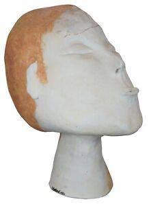 Stress-by-Deborah-Ballard-Art-Sculpture-Figural-Head-Bust-1986-Contemporary-24-034