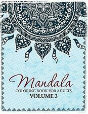 Mandala Coloring Book For Adults Volume 3 By Celeste Von Albrecht