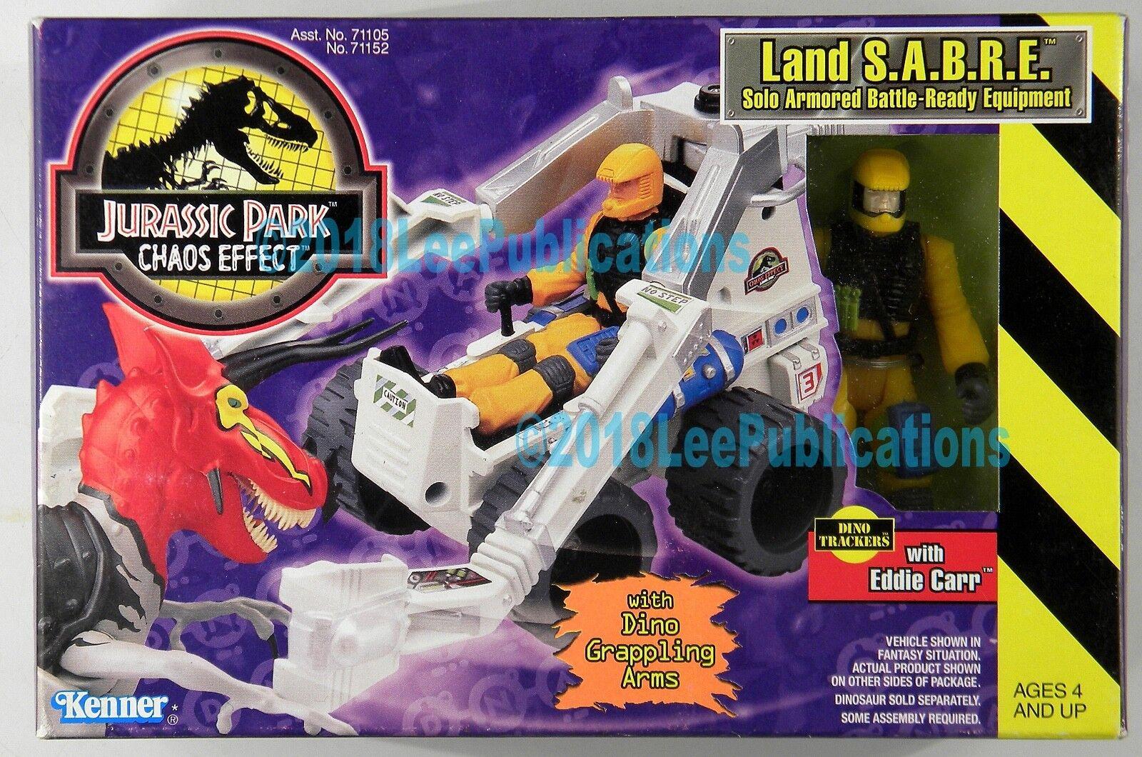 Kenner Jurassic Park Park Park Dinosaur Land S.A.B.R.E. MISB rare c-9 Sabre Chaos Effect 9592b5