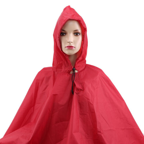 Multifunctional Raincoat Outdoor Poncho Backpack Rain Cover Waterproof Tent IT