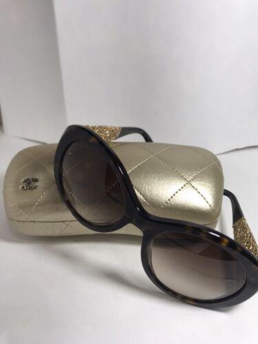 Chanel 5262 C714/S5 Bijou Sunglasses Tortoise/Gold