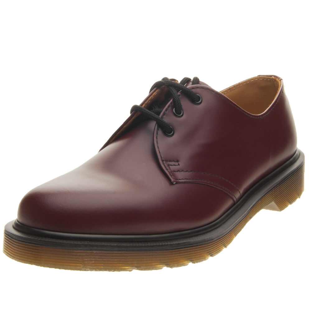 Scarpe Dr. Martens 1461 Pw Smooth Smooth Smooth 10078602 Rosso 214f55