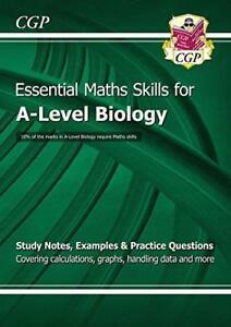 Neuf 2015 A-Level Biology : Essentiel Maths Skills par Cgp Livres,Livre ,Gratuit