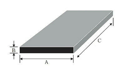 Aluminium Flat Bar Plate width from 120mm to 250mm many thicknesses and lengths