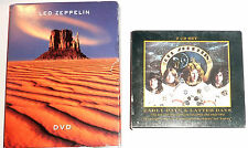 (2) CD & (2) DVD SETS by LED ZEPPELIN