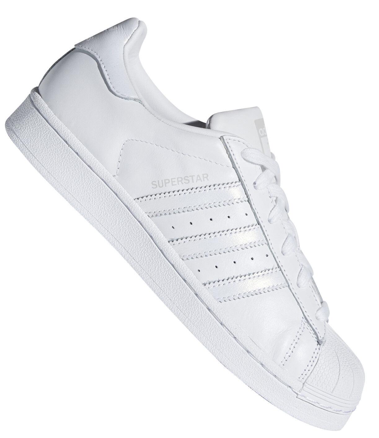 Adidas Superstar Damen Turnschuh weiß/silber Sneaker weiß/silber Turnschuh 0a1eb6