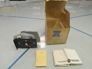 1969-DODGE-POLARA-MONACO-CLOCK-PACKAGE-NOS-MOPAR-PN-2927973-With-Original-Box