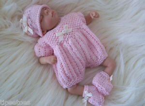 Dolls-Knitting-Pattern-3-TO-KNIT-Lil-Pumpkin-8-034-amp-10-034-Reborn-Berenguer-OOAK