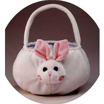 6 PLUSH RABBIT BASKETEASTER BASKET
