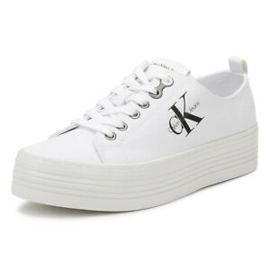 calvin klein jeans white shoes