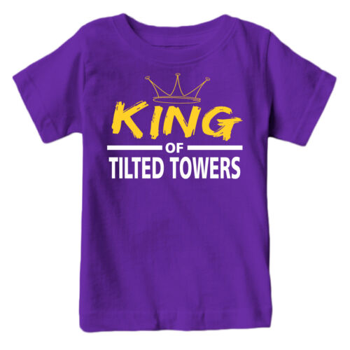 King of the Titled Towers Flossin Kids Shirt