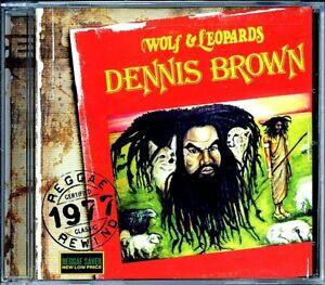 SEALED-NEW-CD-Dennis-Brown-Wolf-amp-Leopards