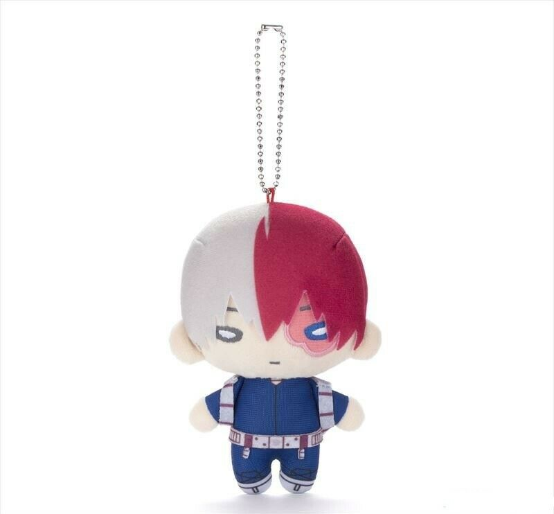 BNHA My Hero Academia Nitotan  5   Plush Doll Ball Chain - TodGoldki Shoto