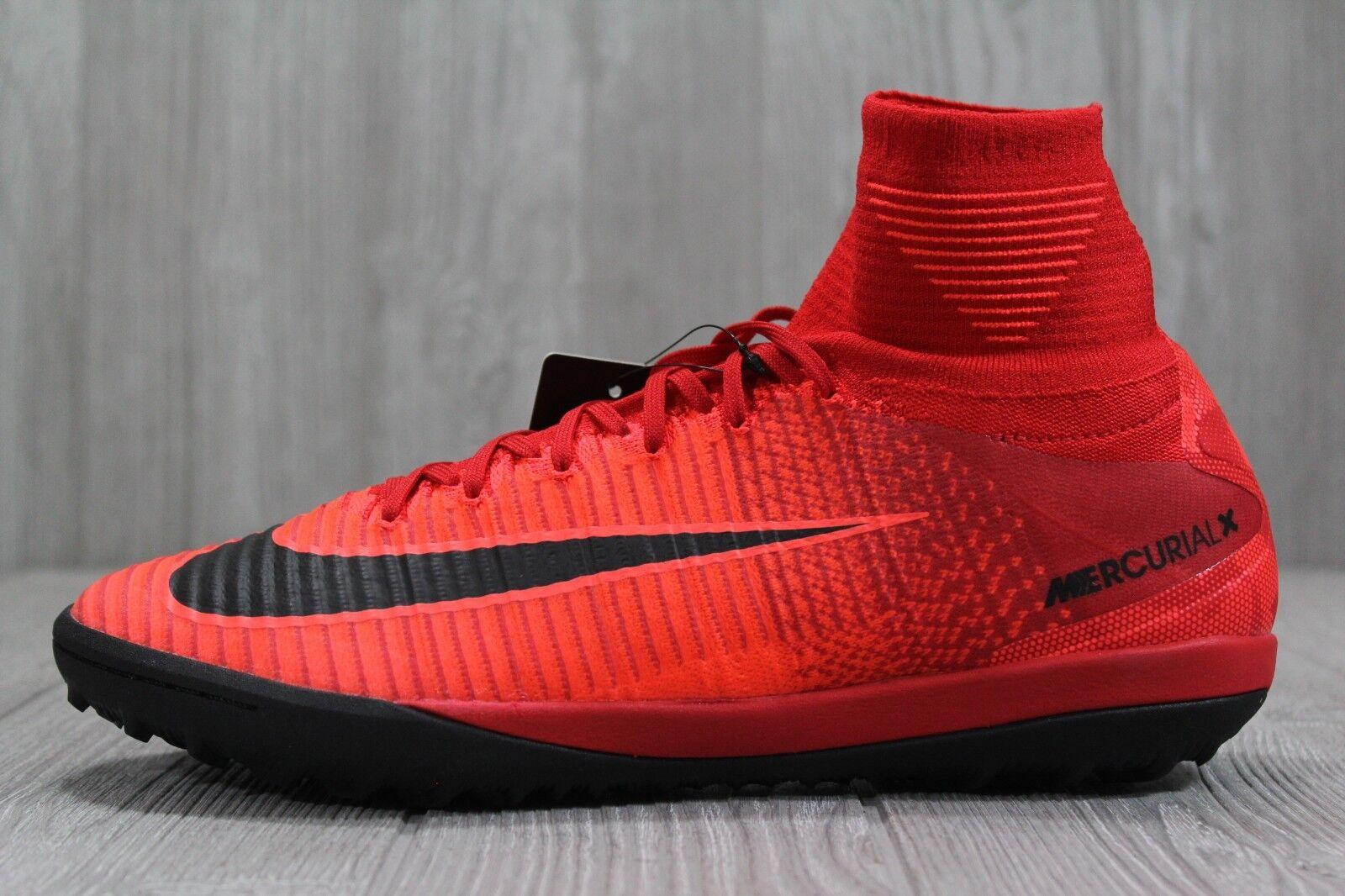 36 Nike MercurialX Proximo II DF TF Men's Turf Soccer shoes Red 831977-616 10.5