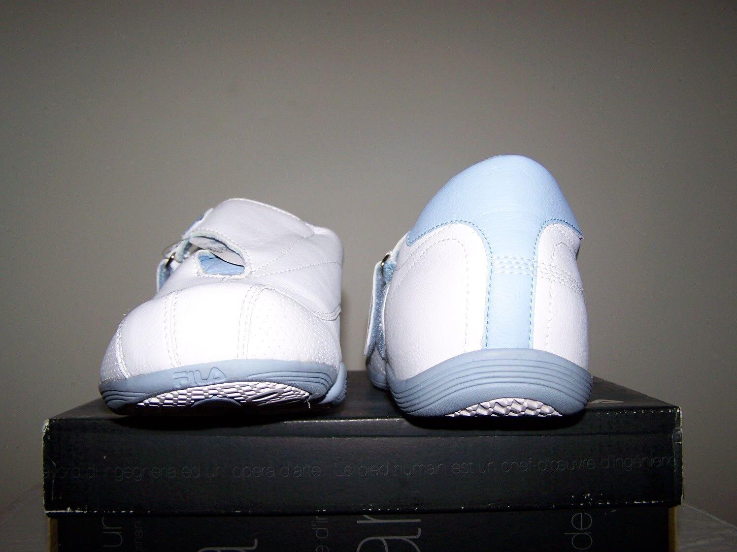 reputable site 9602f 98140 ... Mujer Talla 11 nueva fila armonia blanco blanco blanco azul zapatos de  cuero con ajuste especial