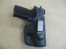 Sig Sauer P 228 , 229  IWB Leather In The Waistband Concealed Carry Holster BLK