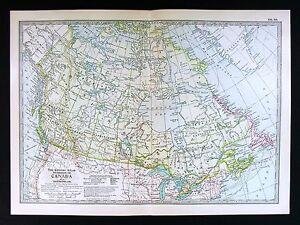 1902 century atlas map dominion of canada quebec ontario nova scotia image is loading 1902 century atlas map dominion of canada quebec gumiabroncs Image collections