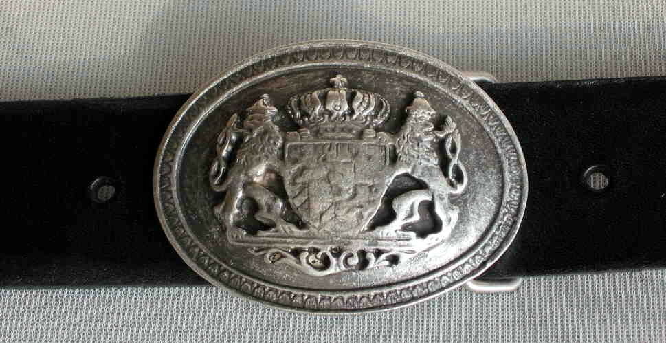 1A SATTLERQUALITÄT 4cm Gürtel LEDER Ledergürtel NEU Wappen HERALDIK Hochwertig#