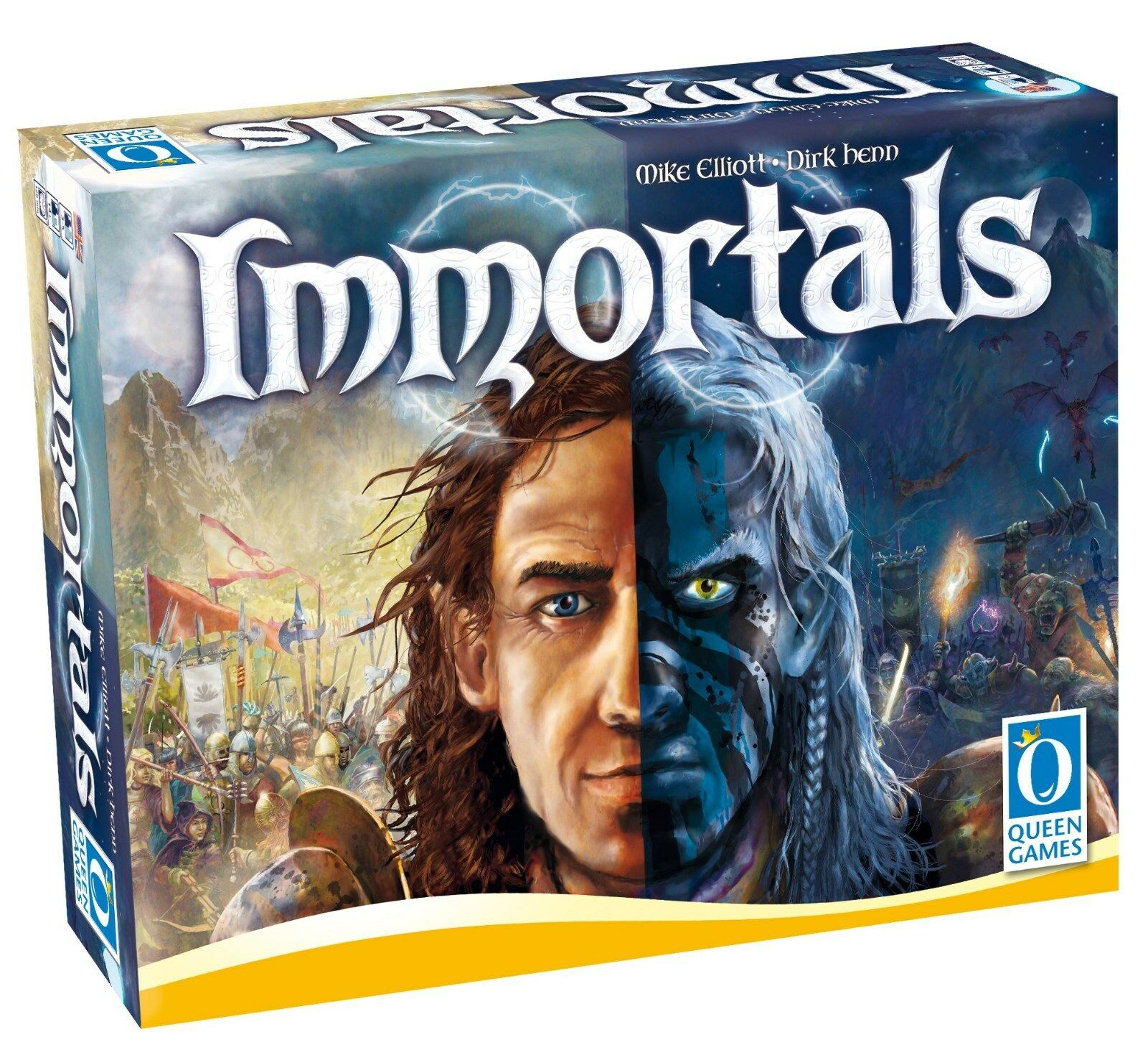 IMMORTALS - Queen Queen Queen Games 20175 - NEU aeb62c