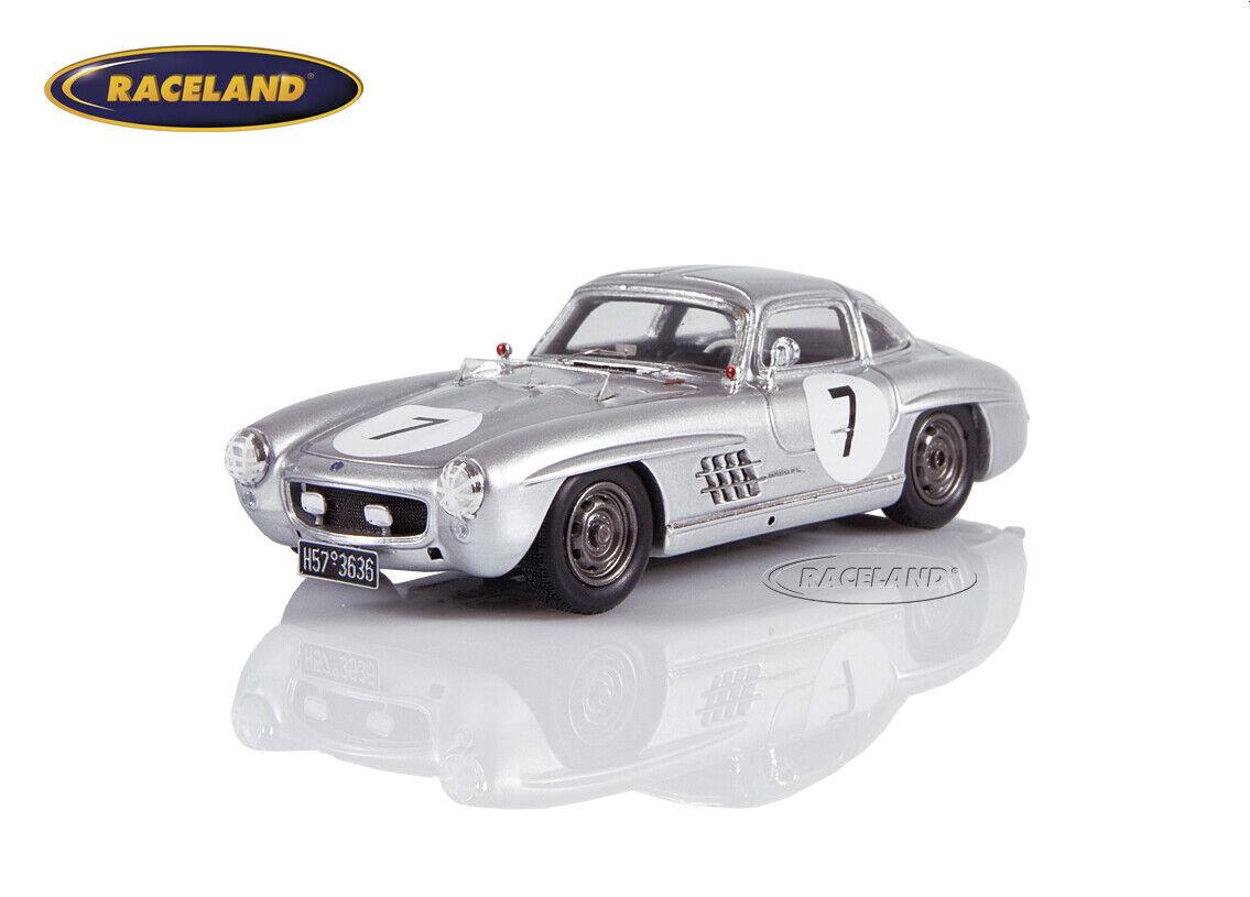 Mercedes-Benz 300SL Y.S. Le Mans 1956 Metternich von von von Einsiedel Spark 1 43, S4410 e2fbd8